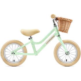 "Creme Mia Løbecykel 12"" Børn, pistachio polka"